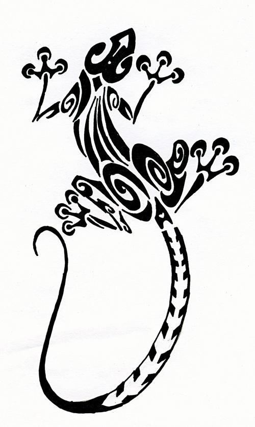 Geico Gecko Drawing