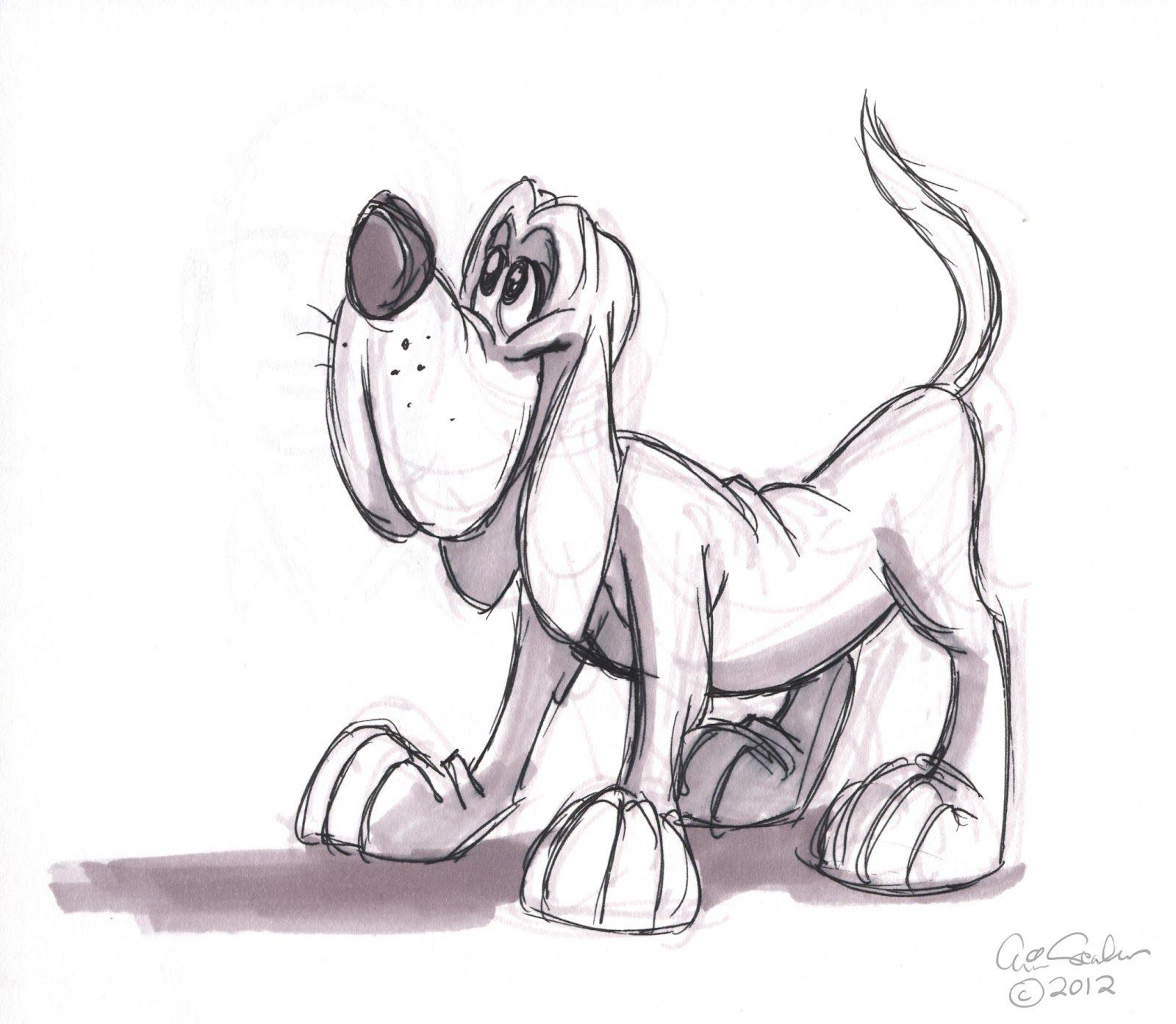 1600x1393 Cartoon Animal Sketch Cartoon Animals Cartoons Dogs