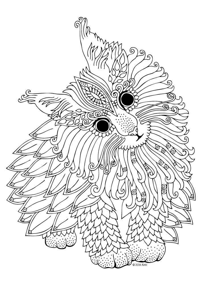 707x1000 Gel Pen Coloring Pages