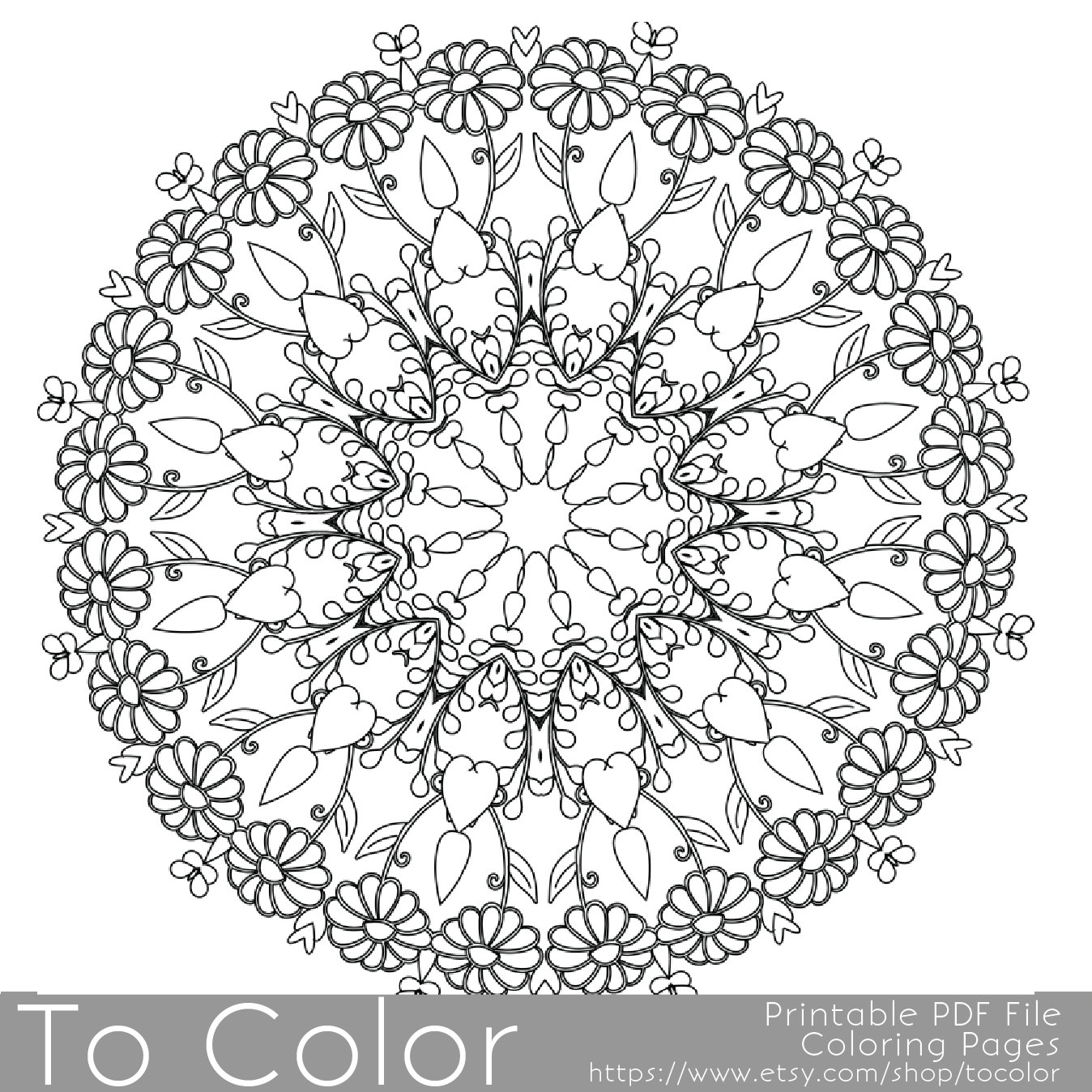 1348x1348 Intricate Printable Coloring Pages For Adults, Gel Pens Mandala