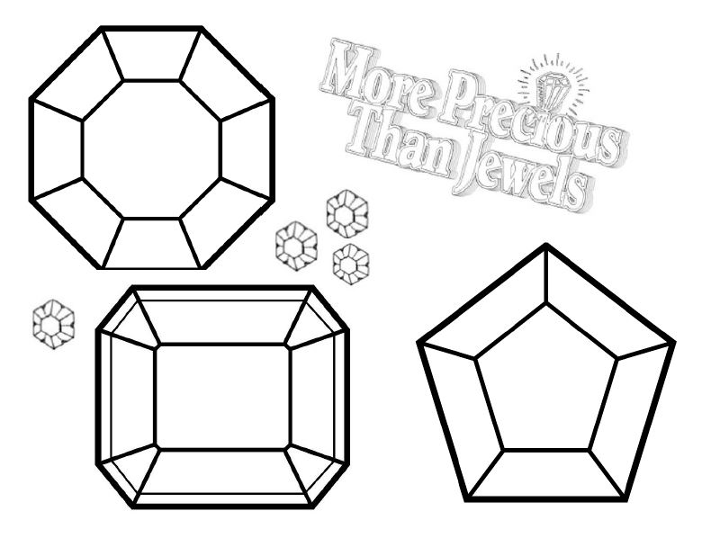 780x598 Gem Coloring Pages For Adults