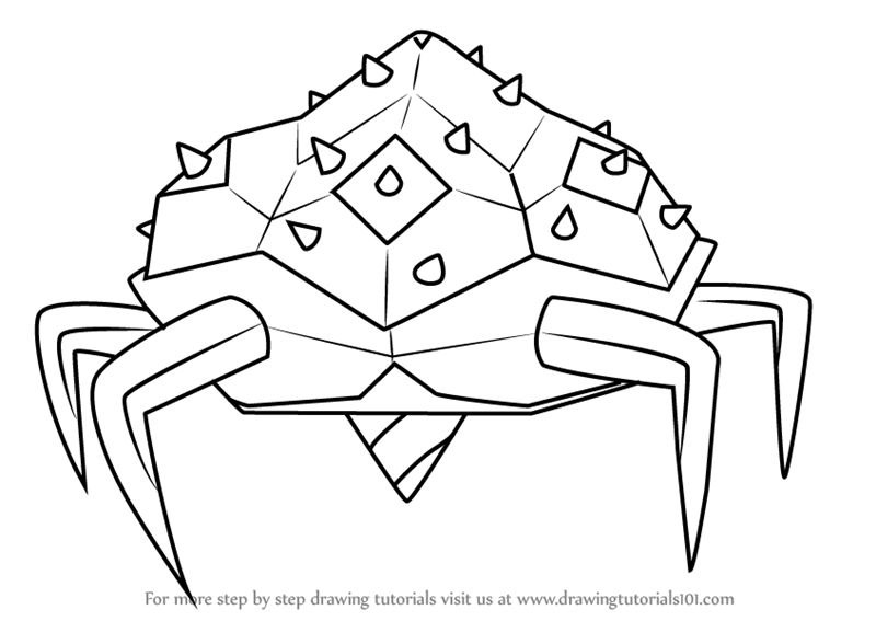 800x567 Learn How To Draw Gem Cave Creature From Steven Universe (Steven