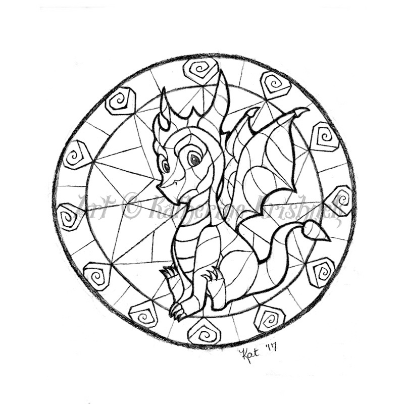 800x800 Spyro The Dragon Gem Circle