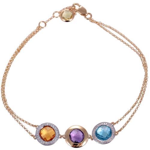 500x500 Trio Gems Bracelet