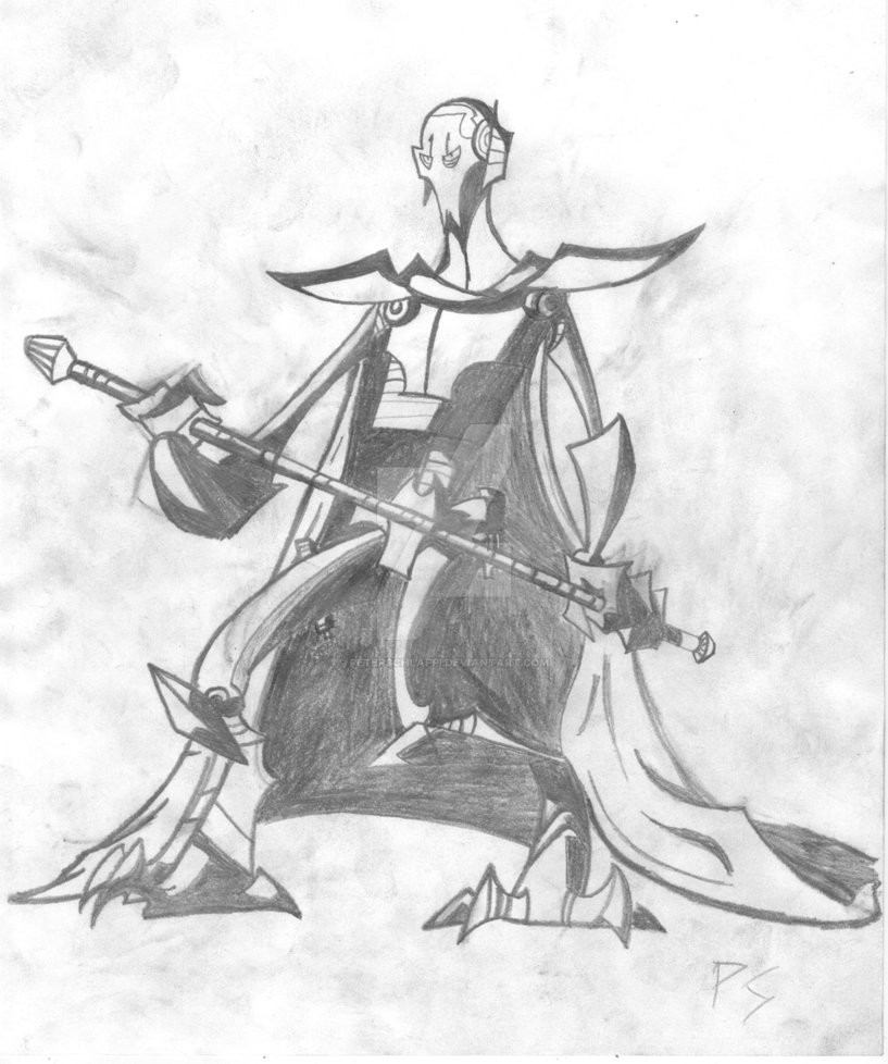 General Grievous Drawing