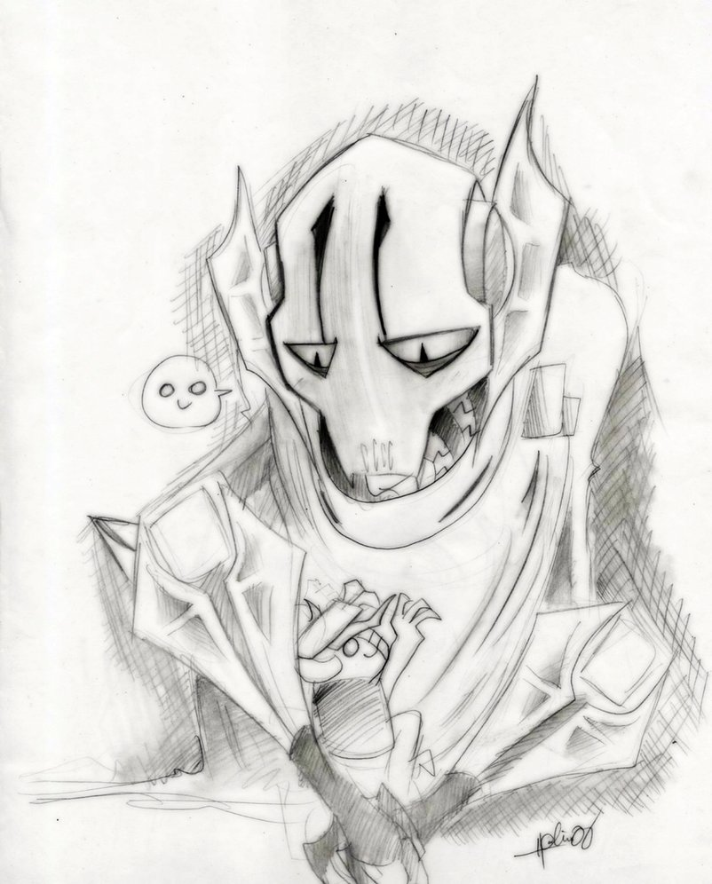 802x996 General Grievous And Gor By Theredspy