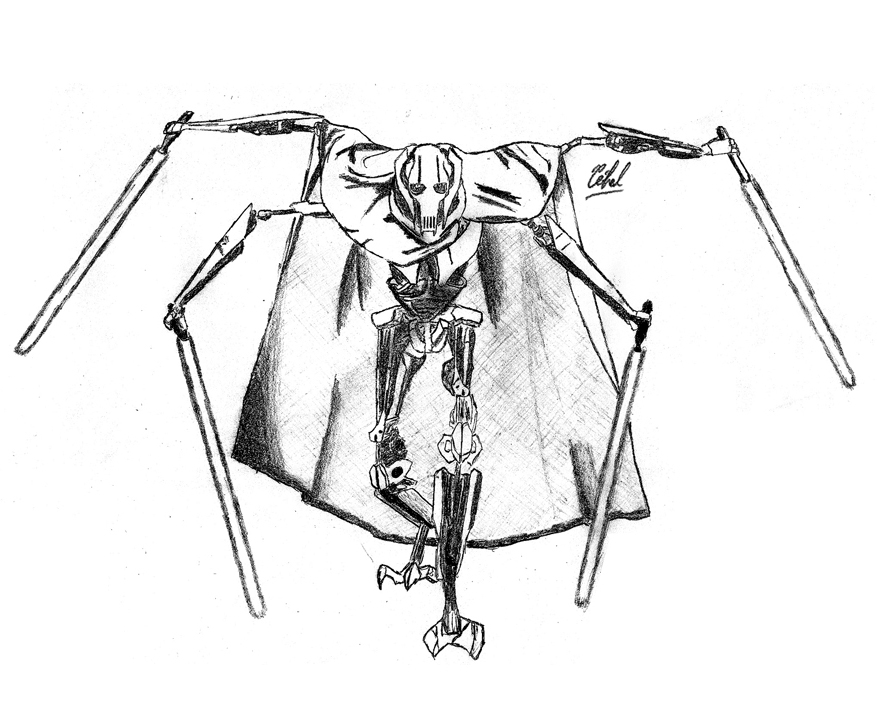 877x727 Grievous By Luctorr