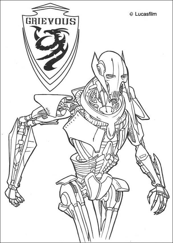 607x850 Grievous Is A Star Wars Villian Acting As The Supreme Commander