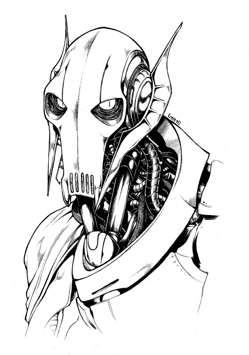 500x712 General Grievous Fan Art Tumblr