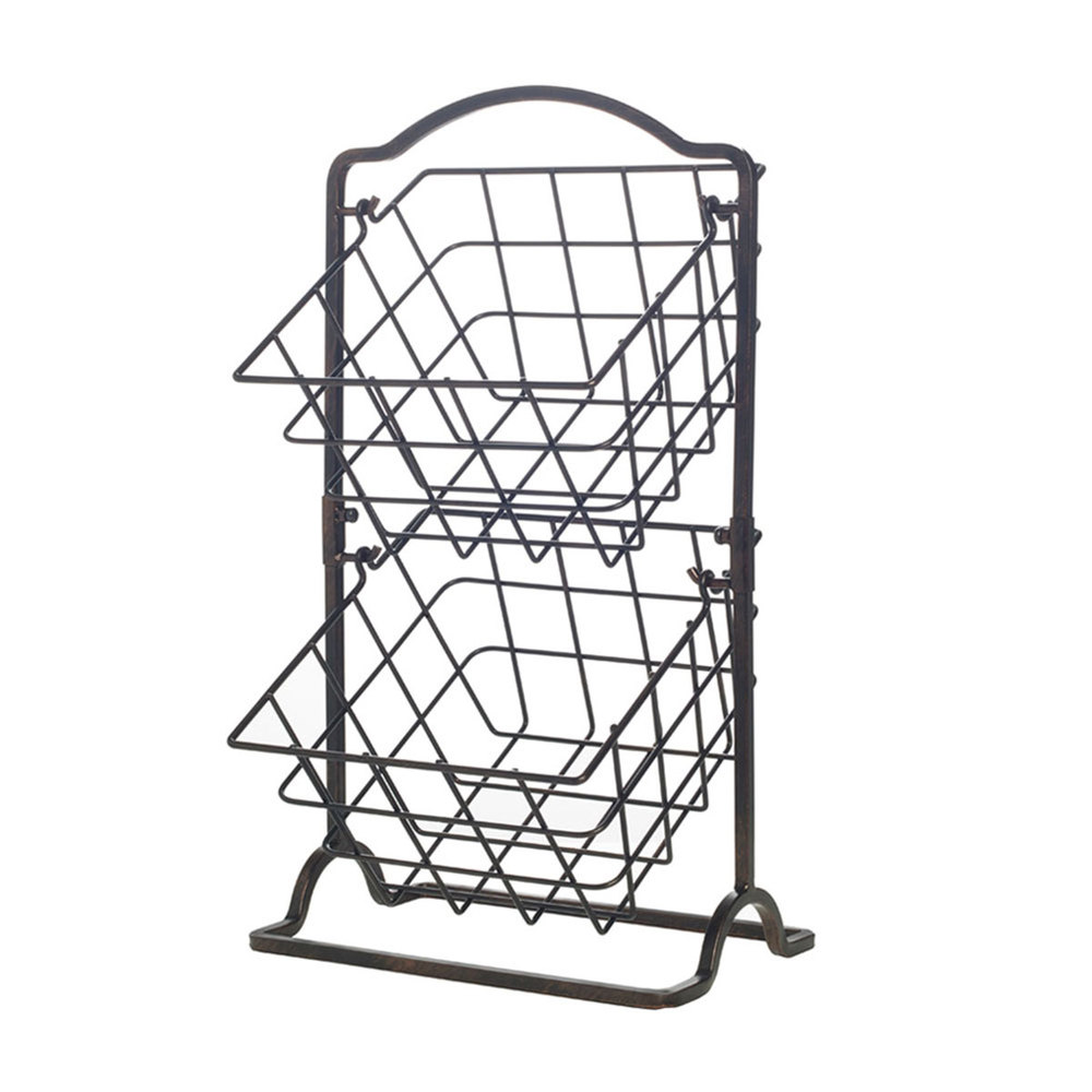 1000x1000 Gourmet Basics By Mikasa General Store 2 Tier Hanging Baskets