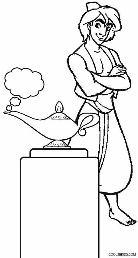 genie magic coloring pages | Genie Lamp Drawing at GetDrawings.com | Free for personal ...