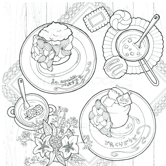 570x570 Travel Coloring Pages Bakery Coloring Pages Sweet Sweet Travel