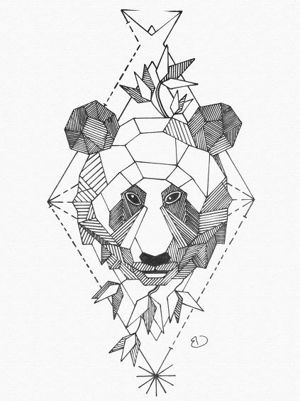 423x564 Geometric Animal Mrs. Cox Class