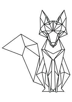 236x333 Geometric Fox