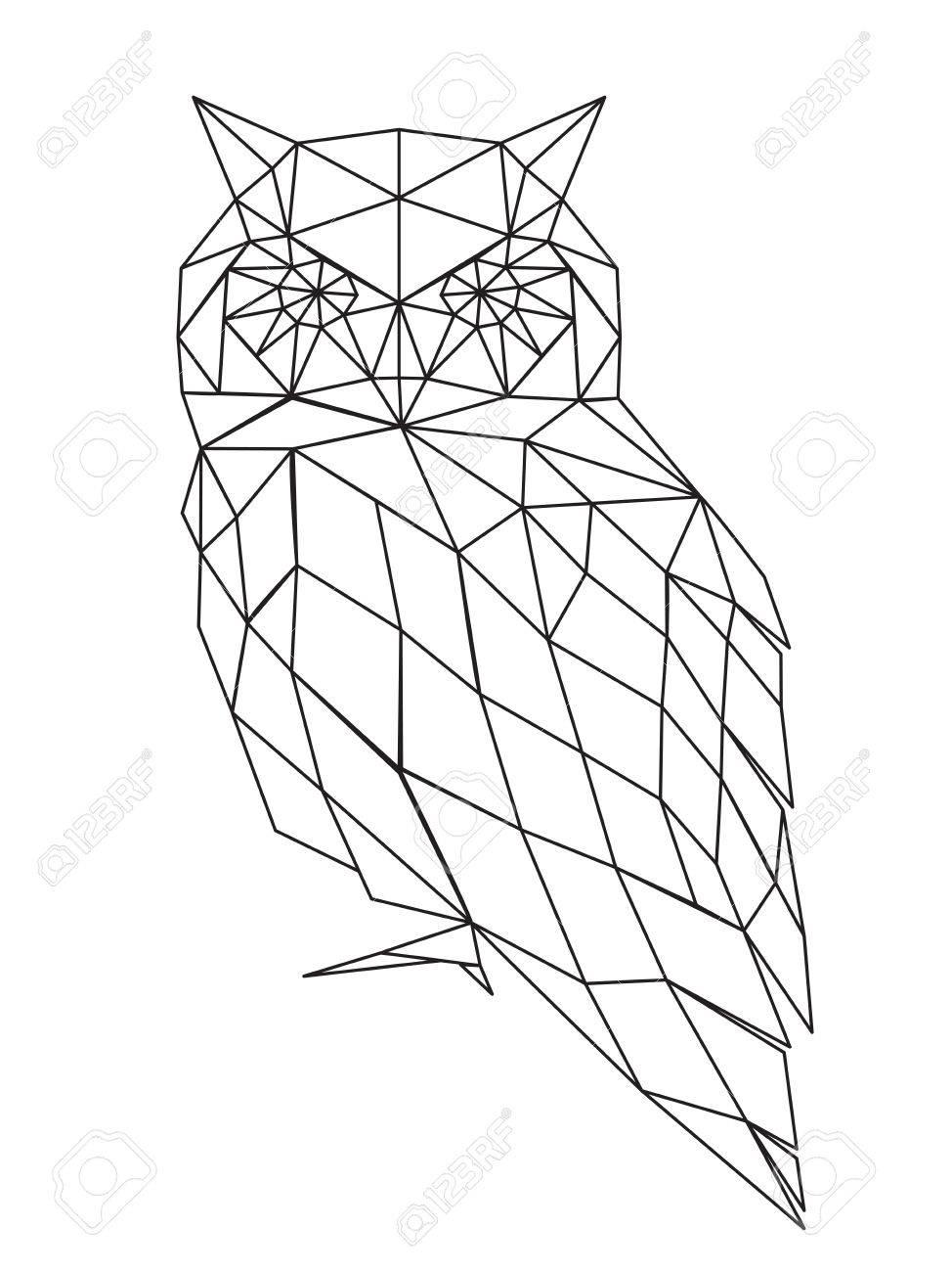 974x1300 54,846 Geometric Animal Stock Vector Illustration And Royalty Free