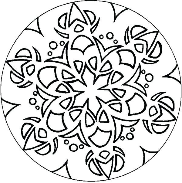 600x603 Geometric Coloring Designs Geometric Coloring Pages And Book Free