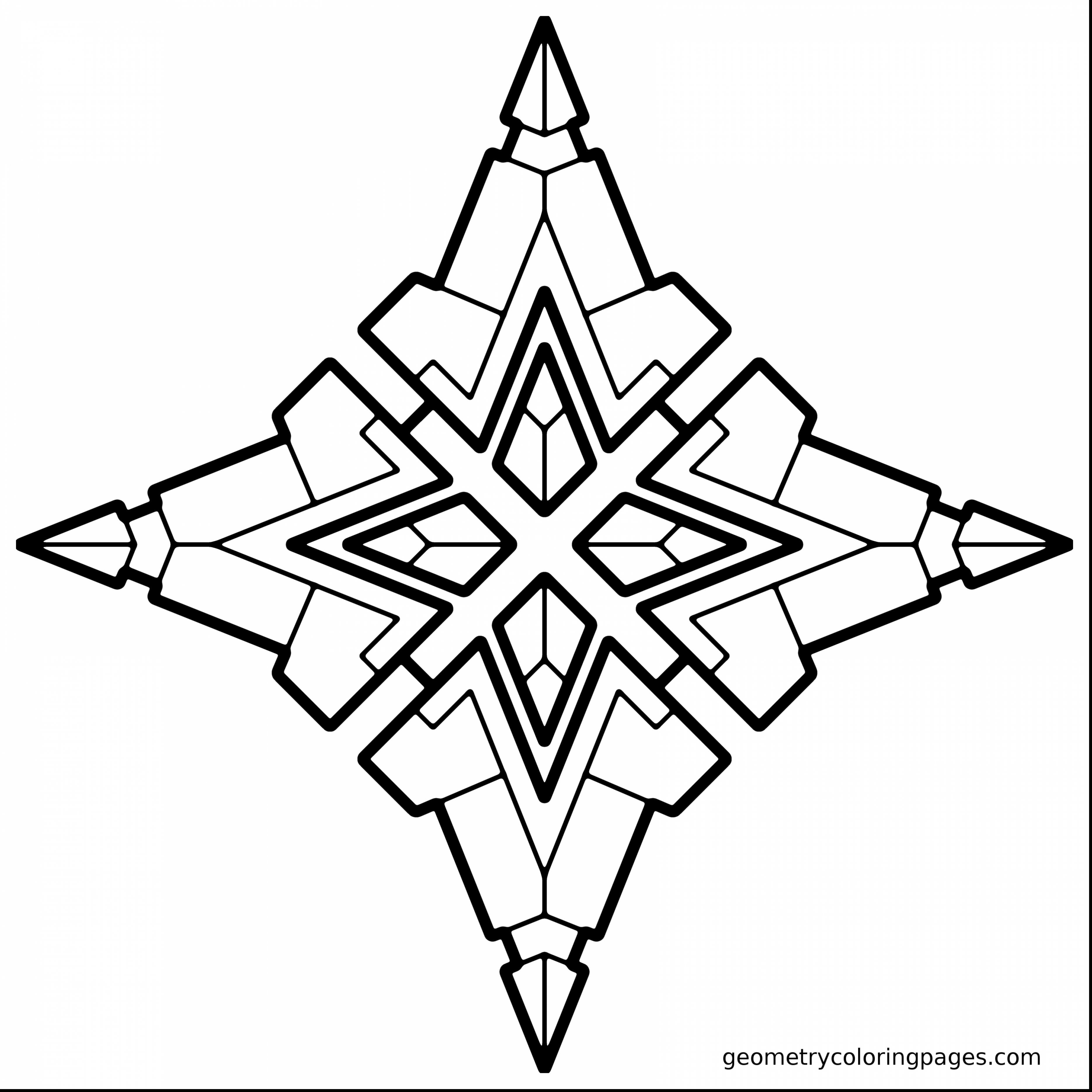 3740x3740 Geometric Coloring Pages Free Draw To Color