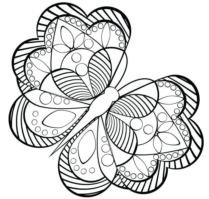 Geometric Flower Drawing at GetDrawings.com | Free for personal use ...