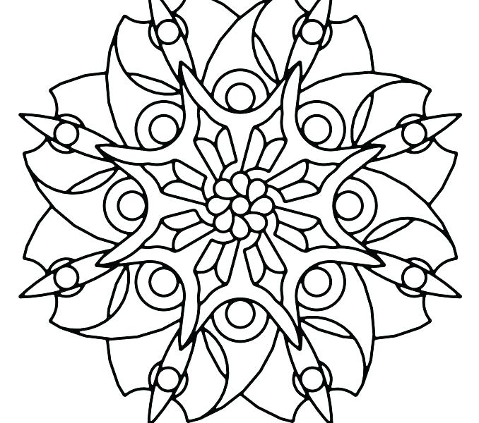 678x600 Geometric Shapes Coloring Pages Geometric Shapes Coloring Pages