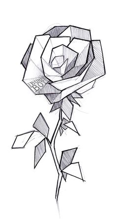 236x447 How To Care For A New Color Tattoo Geometric Rose Tattoo, Rose