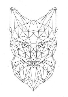 236x336 Geometric Deer Head Deer Body Digital Cut Files By Flourishfiles