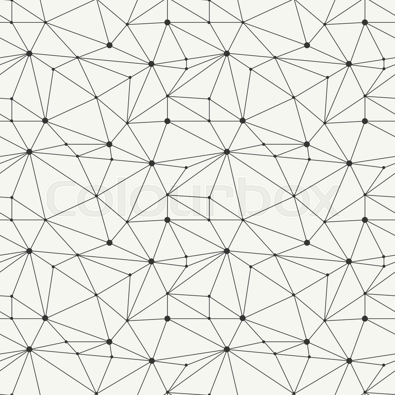 800x800 Geometric Line Hipster Seamless Pattern With Triangle, Circles