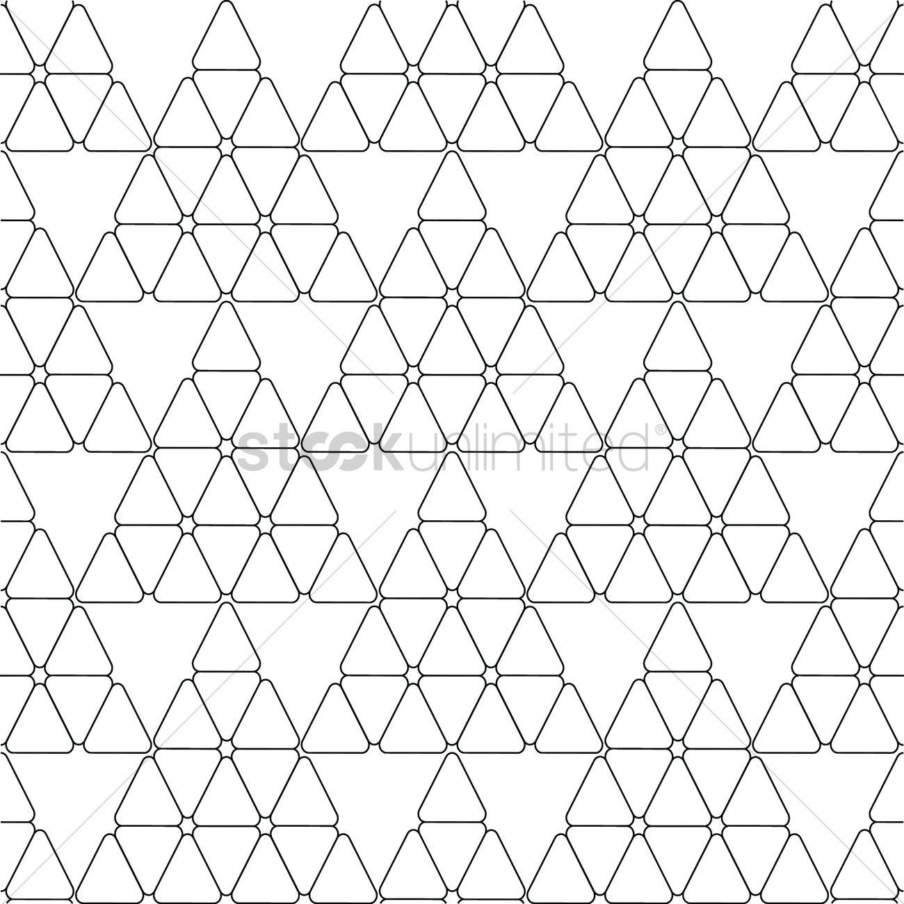 1300x1300 Geometric Lines Pattern Vector Image