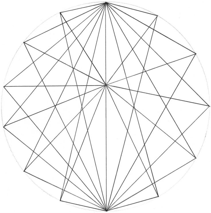 Line Art Shapes : Geometric line drawing at getdrawings free for