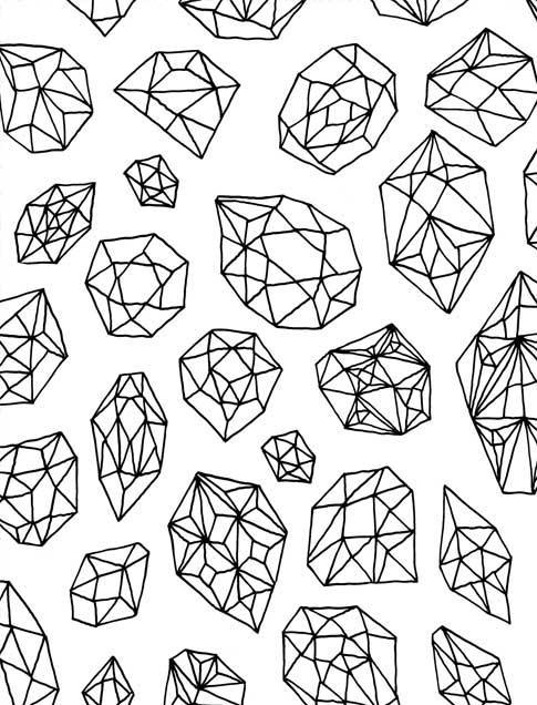 485x636 Just Add Color Geometric Patterns 30 Original Illustrations