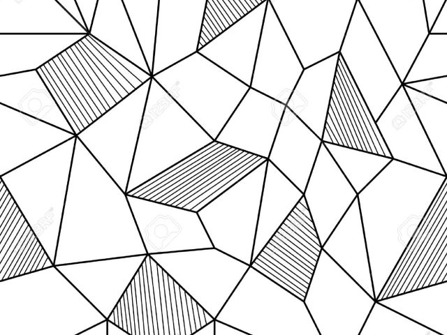 640x480 Abstract Geometric Line Drawings Abstract Seamless Background