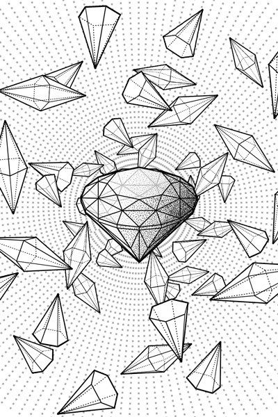 400x600 Collection Of Geometric Line Drawings By Eric Schmidt,toronto