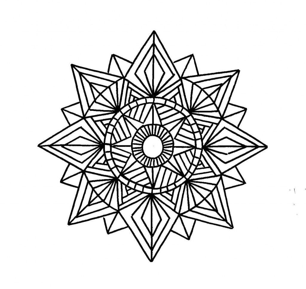 1024x968 Top Geometric Patterns Coloring Pages Pic Unknown Resolutions