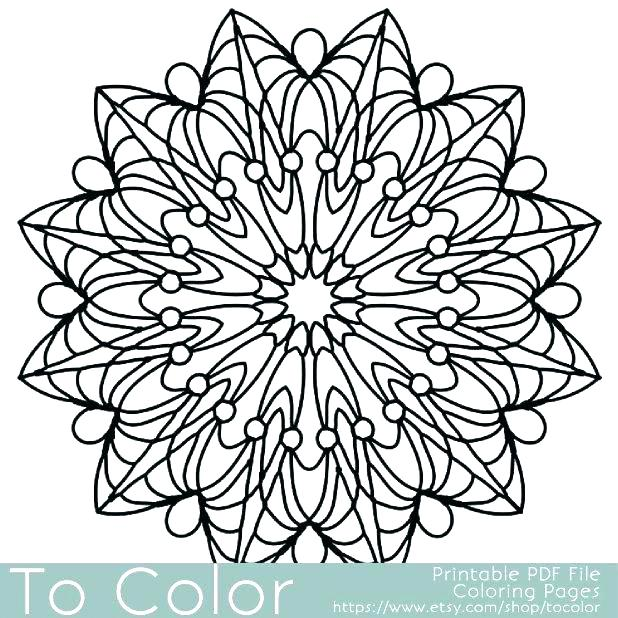 618x618 Coloring Pages Patterns Geometric Geometric Shapes Cartoon