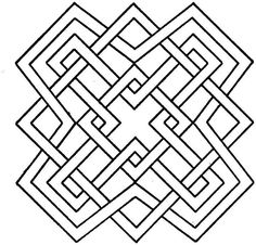 236x226 Geometric Shapes Coloring Page Free Download