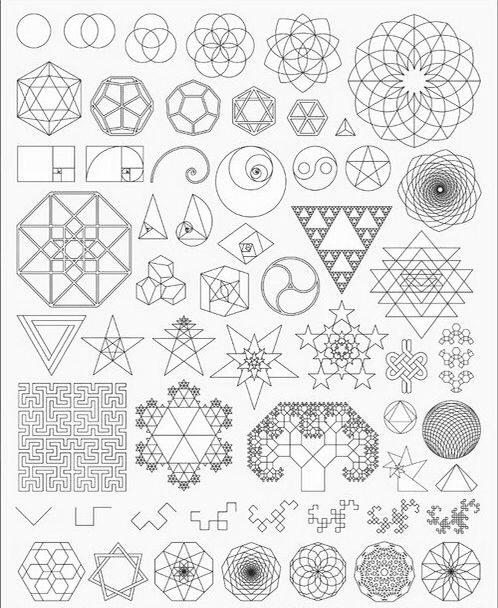 498x608 Geometric Shapes Design Tattoo World Of Example
