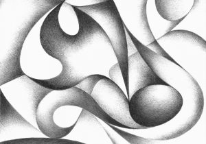 300x210 Abstract Shapes Drawing Abstract Drawing Of Geometric Shapes