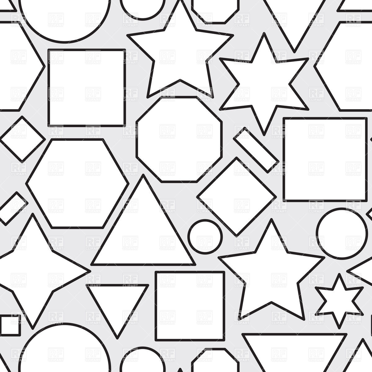 Geometrical Shapes Drawing At Getdrawings Com Free For