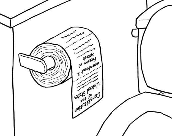 600x475 George Bush's Toilet Paper By Zarelsl