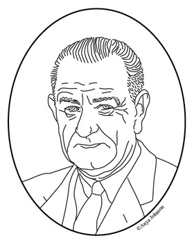 280x350 George W. Bush (43rd President) Clip Art, Coloring Page Or Mini Poster