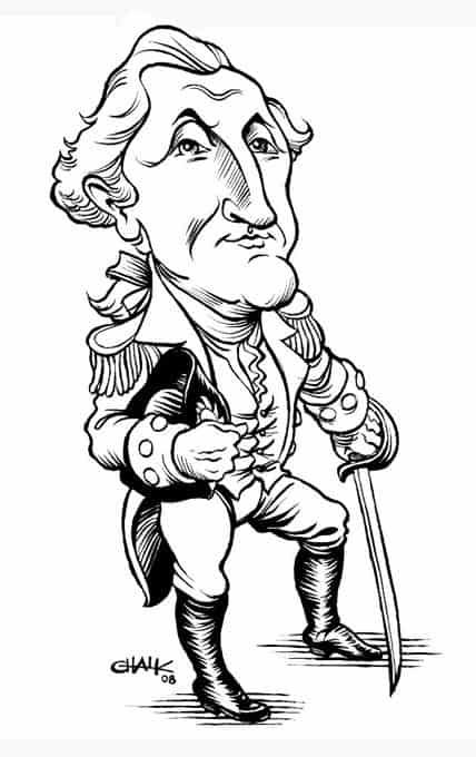 George Washington Cartoon Drawing at GetDrawings.com   Free for ...
