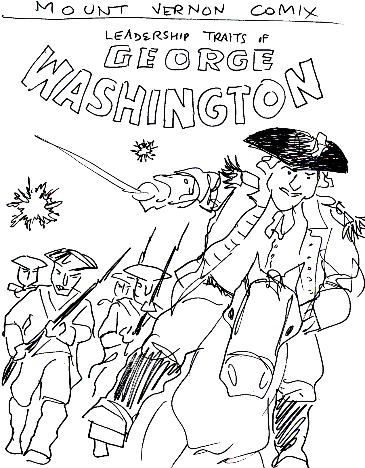George Washington Cartoon Drawing At GetDrawings