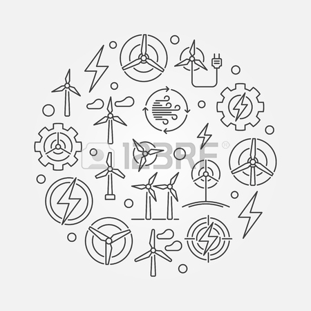 450x450 Geothermal Energy Vector Illustration Royalty Free Cliparts