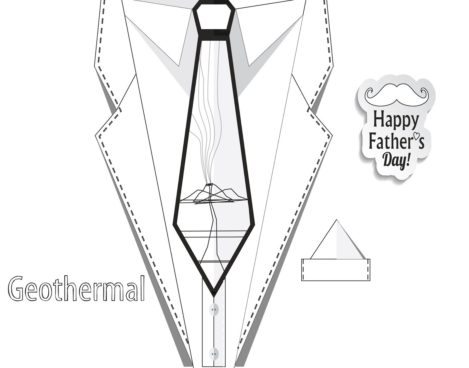 1600x1255 Happy Father's Day! Here's A Geothermal Tie!