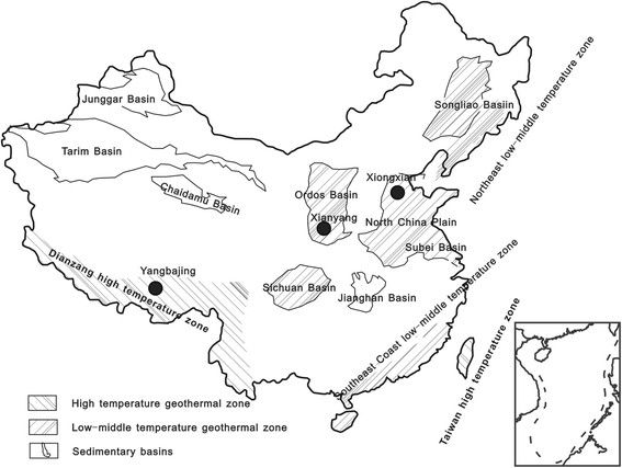 567x427 Recent Studies On Hydrothermal Systems In China A Review