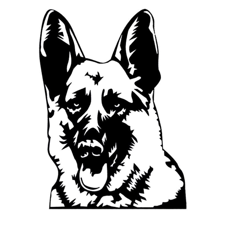 800x800 Buy German Shepherd Sticker And Get Free Shipping
