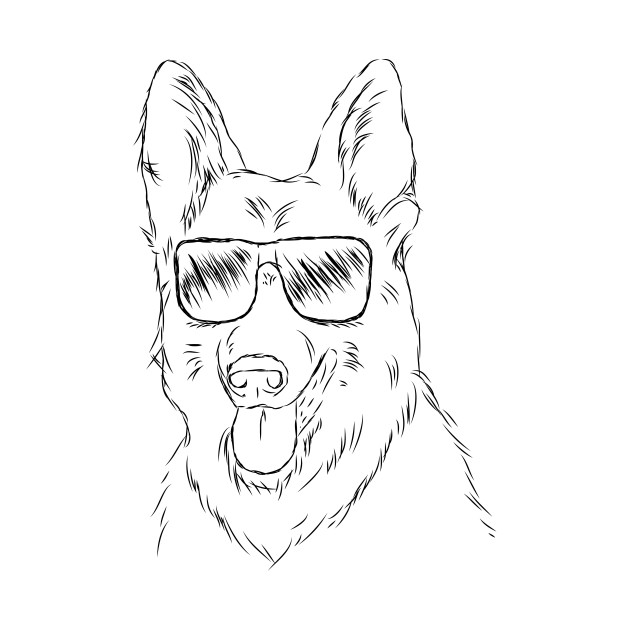 630x630 Cool German Shepherd