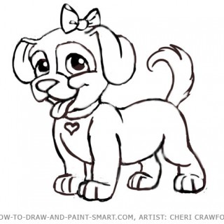 320x320 Tag For Drawings Puppies Draw Puppy Dog 15 Jpg. Drawings