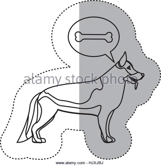 524x540 Illustration German Shepherd Dog Head Stock Photos Amp Illustration