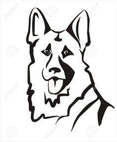 236x286 Image Result For German Shepherd Silhouette Tattoos