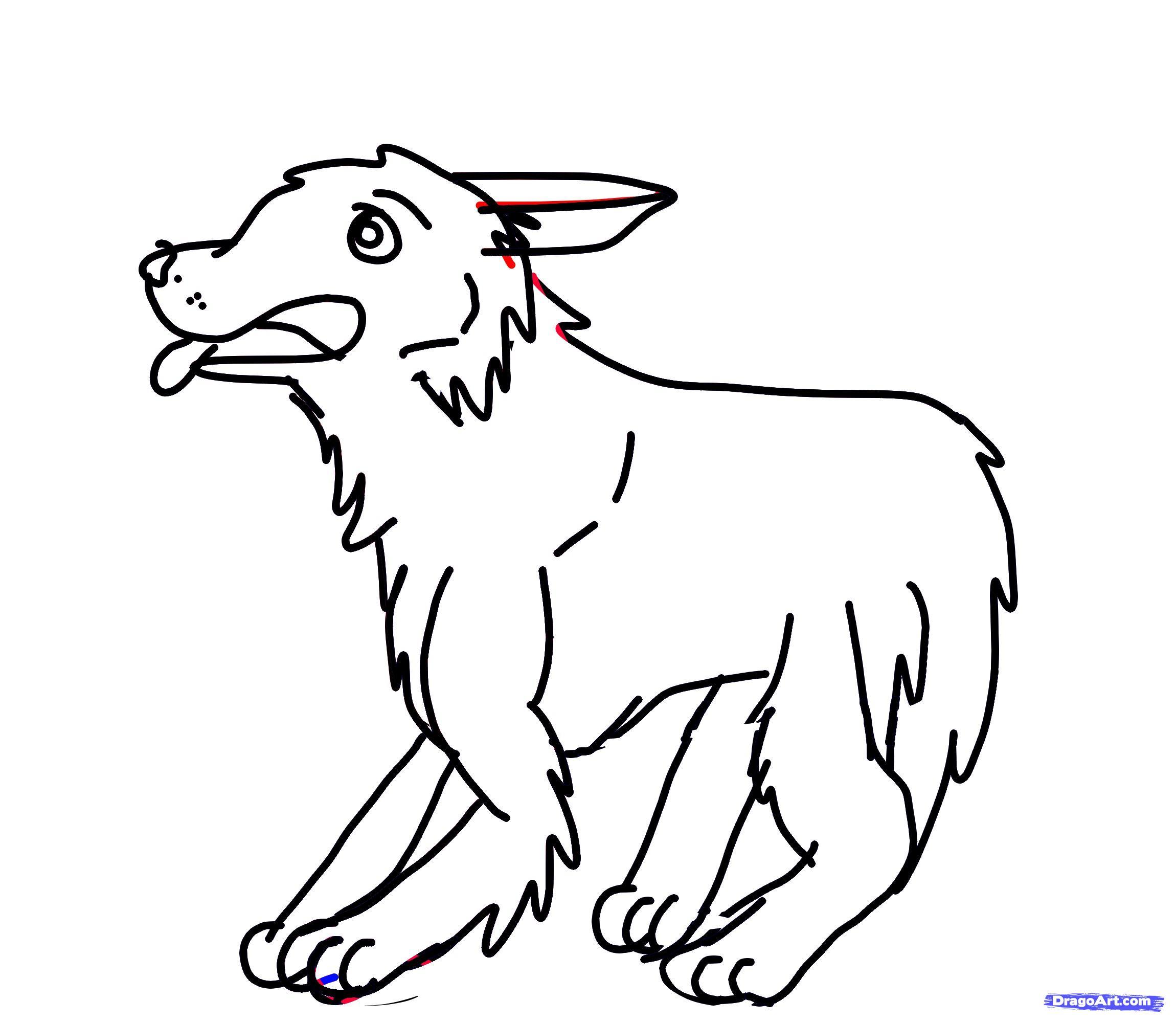 2300x2000 German Shepherd Drawings Step By Step Drawn German Shepherd Simple